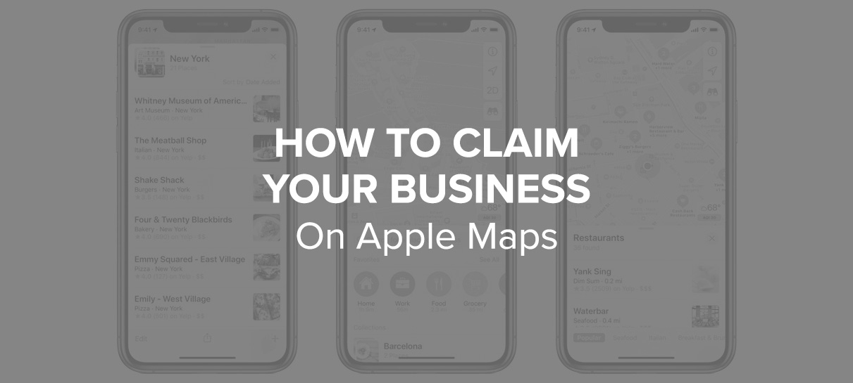 How to claim your business on Apple Maps